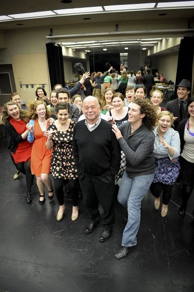 Cast and Director Jack Heifner Photo