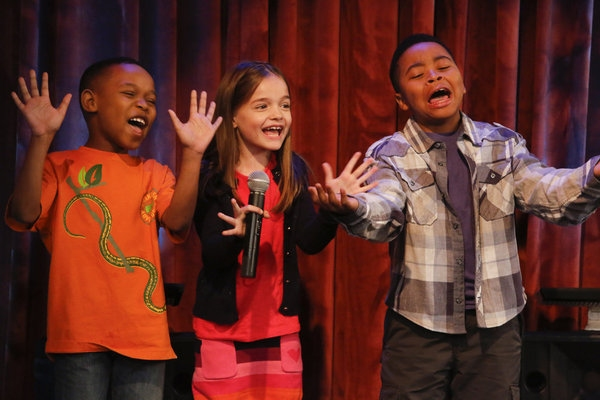 Photo Flash: Keshia Knight Pulliam Guest Stars on Tonight's GUYS WITH KIDS