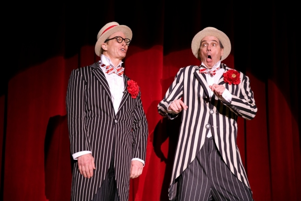 Photo Flash: First Look at Bill Irwin, David Shiner and Nellie McKay in Signature Theatre's OLD HATS