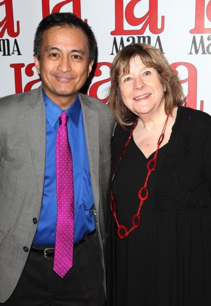 Nicky Paraiso & Marylouise Burke
