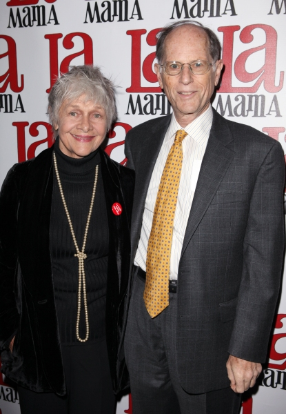 Estelle Parsons & husband Peter Zimroth