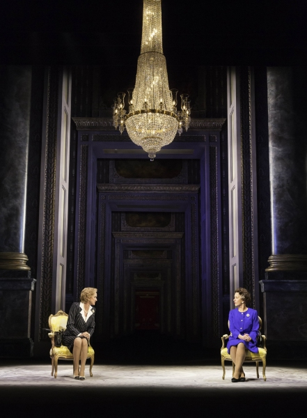 Photo Flash: Back as The Queen! First Look at Helen Mirren, Michael Elwyn and More in THE AUDIENCE