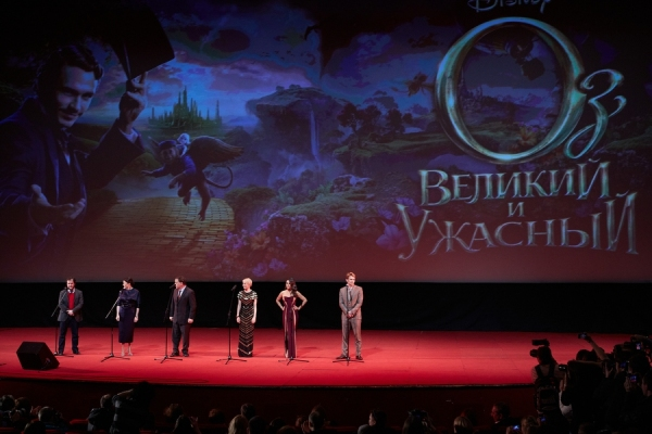 Photo Flash: Moscow Premiere of OZ: THE GREAT AND POWERFUL