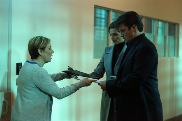 Photo Flash: First Look - CASTLE's 'Scared to Death,' Airing 3/18