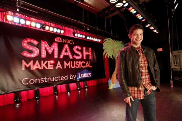 Photo Flash: SMASH Star Jeremy Jordan Joins the MAKE A MUSICAL Program to Rebuild East Rockaway High School's Stage
