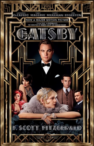 GREAT GATSBY Gets Tie-In Novel Cover & 2 New Promo Pics