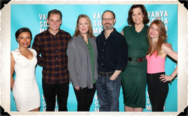 FREEZE FRAME: VANYA AND SONIA AND MASHA AND SPIKE's Sigourney Weaver, David Hyde Pierce and More Meet the Press