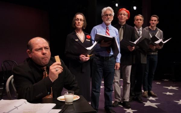 Danny Rutigliano, Susan Blommaert, Dennis Parlato, Tom Galantich, Kilty Reidy and Claybourne Elder