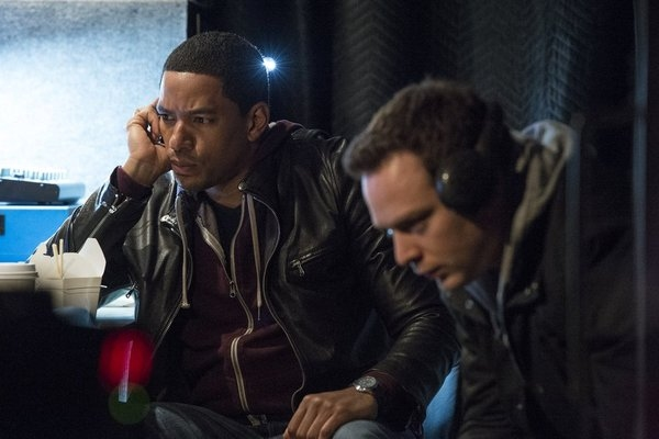 "DECEPTION -- ""You're the Bad Guy"" Episode 110 -- Pictured: (l-r) Laz Alonso as Will Moreno, Michael Drayer as Gabe -- (Photo by: David Giesbrecht/NBC)"