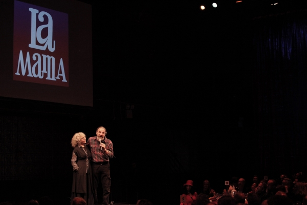 Mandy Patinkin & Kathryn Grody at Inside La Mama's 51 Gala!