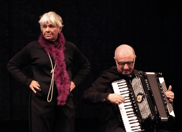 Estelle Parsons & Accordionist Bill Schimmel