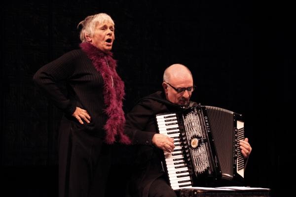 Estelle Parsons & Accordionist Bill Schimmel