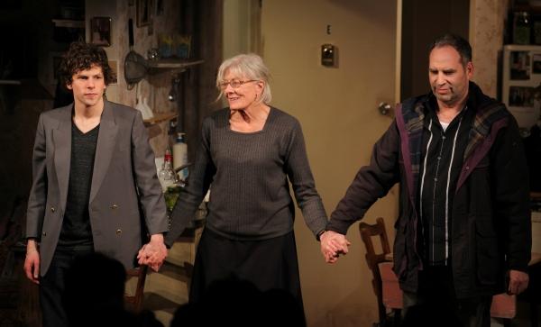 Jesse Eisenberg, Vanessa Redgrave & Daniel Oreskes