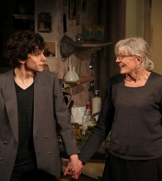 Photo Coverage: THE REVISIONIST's Opening Night Curtain Call with Jesse Eisenberg & Vanessa Redgrave