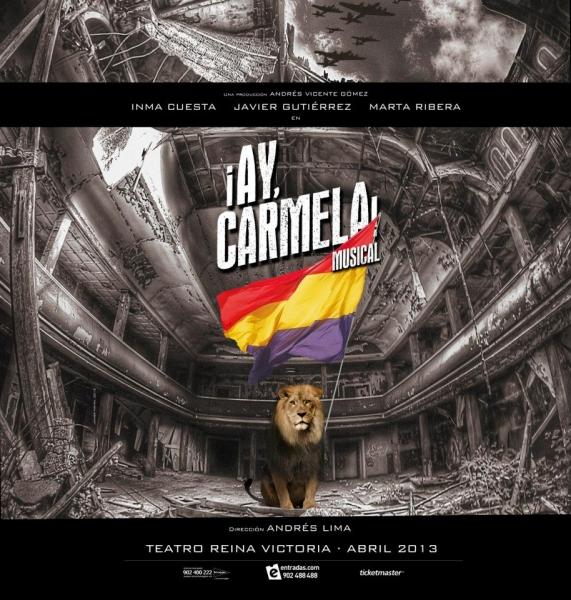 Primeras imágenes: Póster de '¡Ay, Carmela! Musical'