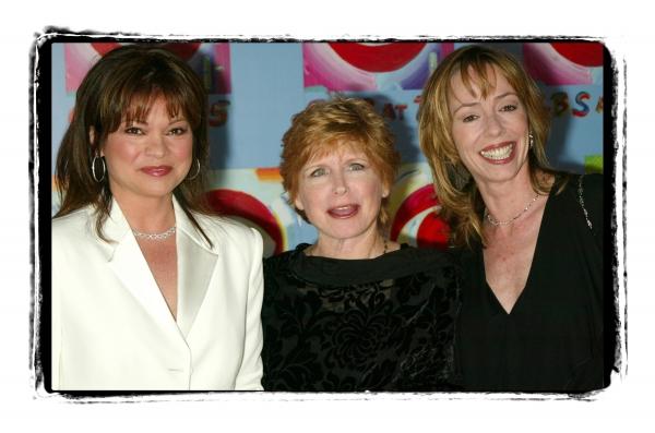 Valerie Bertinelli and Bonnie Franklin with Mackenzie Phillips