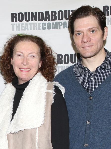 Brenda Wehle and Adam Rapp