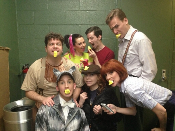 Photo Flash: Saturday Intermission Pics, March 2 - NEWSIES and BOOK OF MORMON Channel SONGS FOR A NEW WORLD and More!