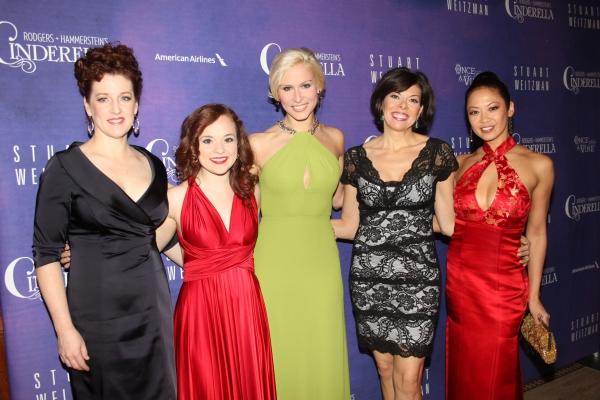 Linda Mugleston, Laura Irion, Stephanie Gibson, Jill Ambramovitz and Kristine Bendul
