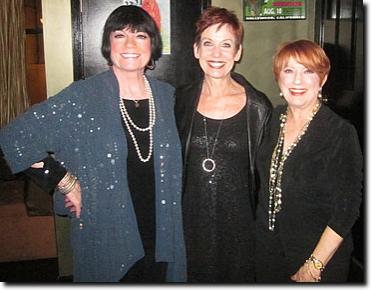 Joanne Worley, Susanne Blakeslee and Nancy Dussault