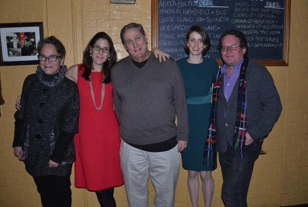 Victoria Nolan, Anne Kauffman, James Nicola, Amy Herzog, William Russo