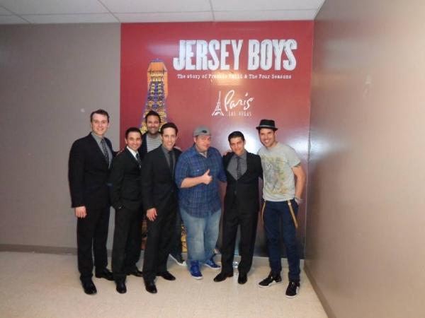 Rob Marnell, Travis Cloer, Jeff Leibow, Deven May, Frankie Moreno Photo