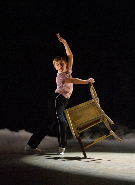 Photo Flash: First Look at Zach Atkinson as Michael in BILLY ELLIOT