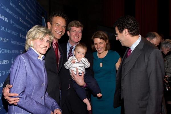 Jean Kennedy Smith, Brian Stokes Mitchell, Patrick Kennedy, Owen Patrick Kennedy, Amy Photo