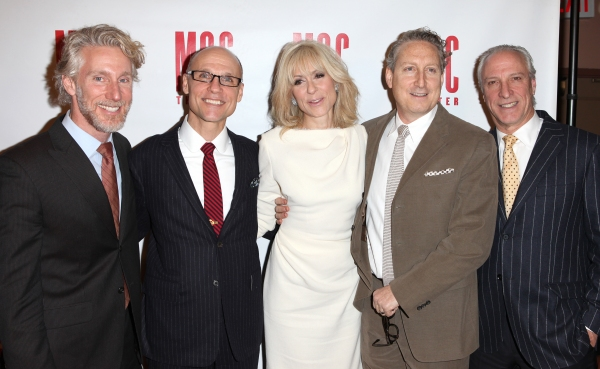 Blake West, Will Cantler, Judith Light, Bernie Telsey and Robert Lupone