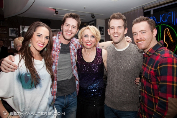 Jake Wilson, Julie Halston, Danny Visconti, Connor Gallagher and Company Photo