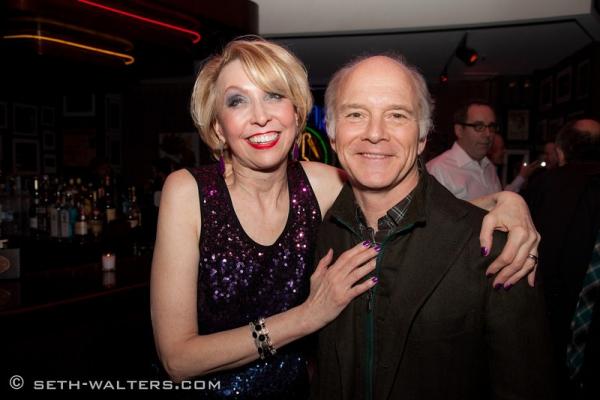 Julie Halston and Dan Butler
