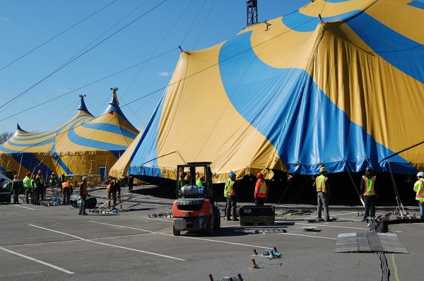 Photo Flash: Cirque du Soleil Raises TOTEM Big Top at Citi Field for 3/14 Opening