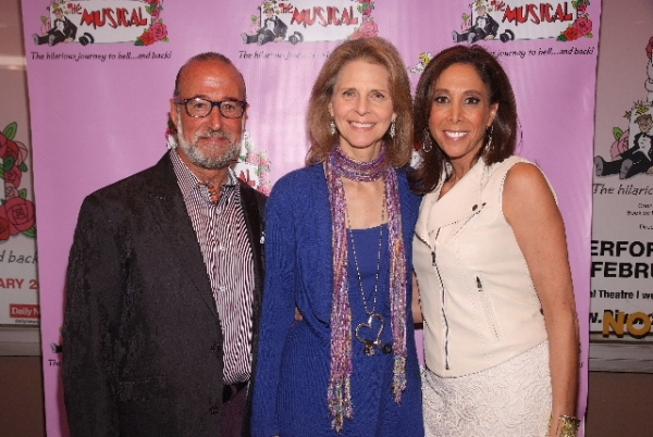 Mark Schwartz, Lindsay Wagner, and Amy Botwinick