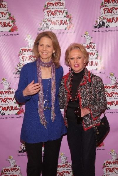 Lindsay Wagner and Tippi Hedren
