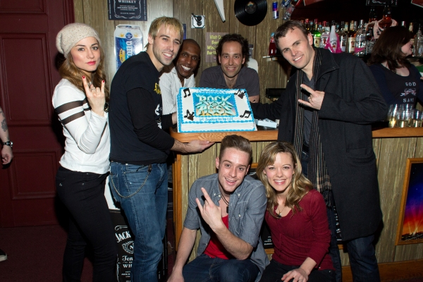 Photo Coverage: ROCK OF AGES Breaks Into Top 50 Longest-Running Shows!