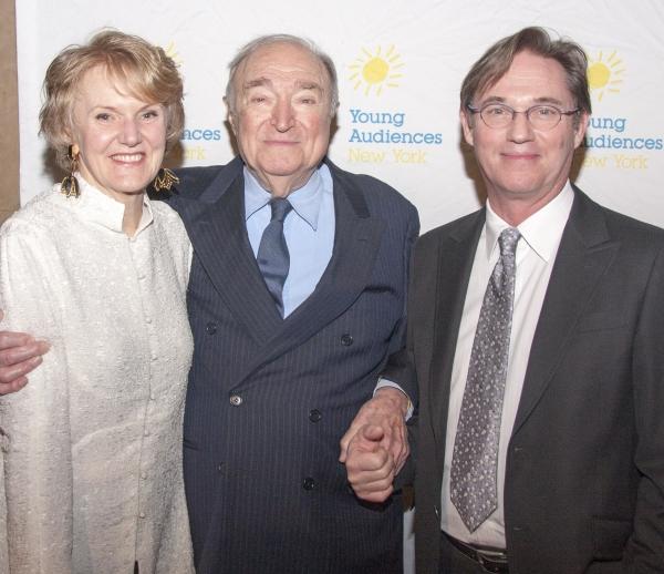 Kim Greenberg, YANY Board Chair Honoree; Wynn Handman, American Place Theatre Literature to Life; Richard Thomas, Childrenâ€s Arts Award Emcee