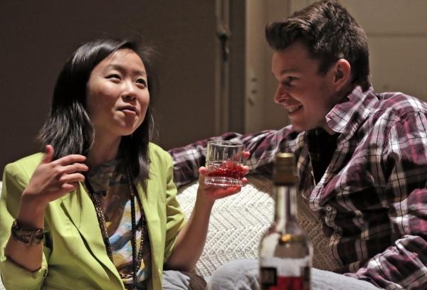 Ruiqi Tang as Amanda and Erik Moody as Leo