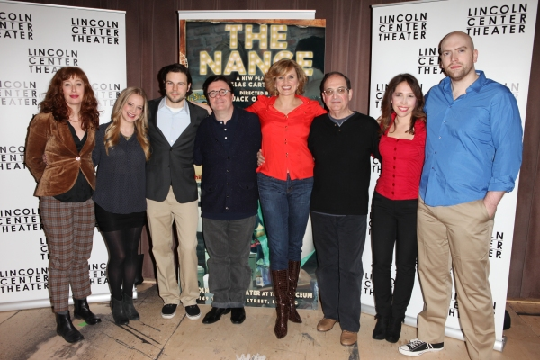 Mylinda Hull, Jenni Barber, Jonny Orsini, Nathan Lane, Cady Huffman, Lewis J. Stadlen Photo