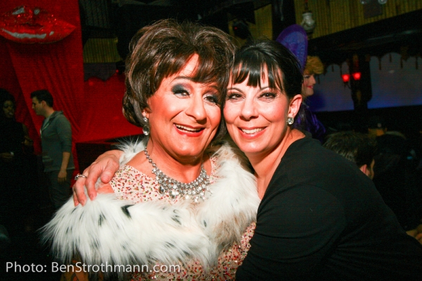 Stella D'oro and Christine Pedi