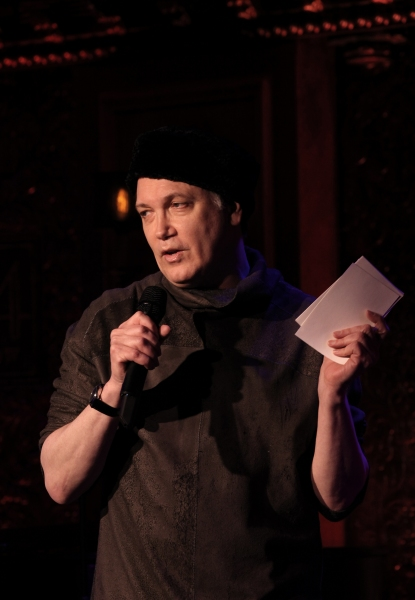 Photo Coverage: Charles Busch in Rehearsal for 54 Below Shows!