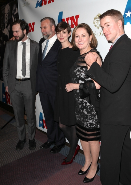 Photo Coverage: ANN's Opening Night Theatre Arrivals- Anne Hathaway & More!