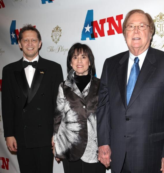 Kevin Bailey, Harriet Leve and Bob Boyett Photo