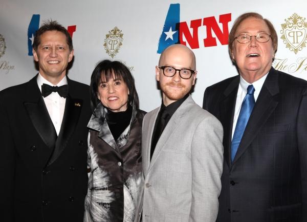 Kevin Bailey, director Benjamin Endsley Klein, Harriet Leve and Bob Boyett Photo