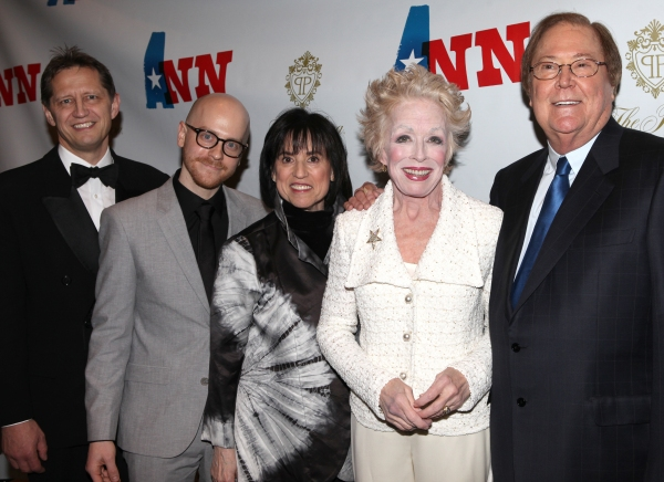 Kevin Bailey, director Benjamin Endsley Klein, Harriet Leve, Holland Taylor and Bob Boyett