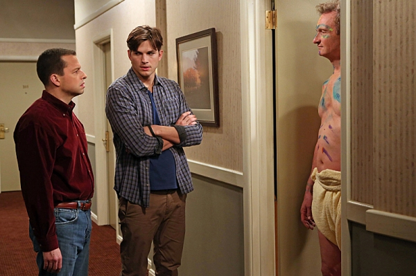 Jon Cryer, Ashton Kutcher, Ryan Stiles