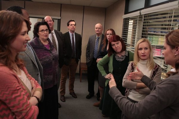 Ellie Kemper, Leslie David Baker, Phyllis Smith, Brian Baumgartner, Ed Helms, Creed Bratton
