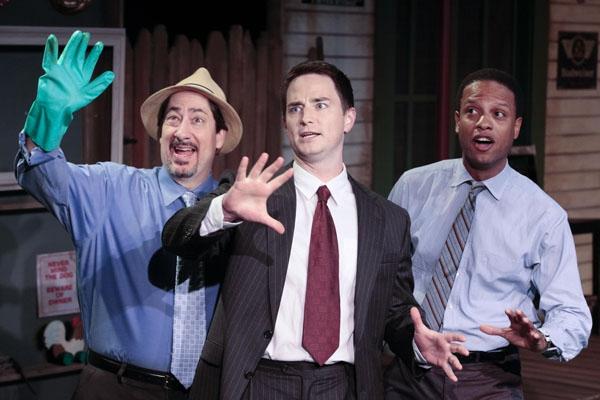 Jason Rowland, Jonathan Root and Elijah Rock Photo