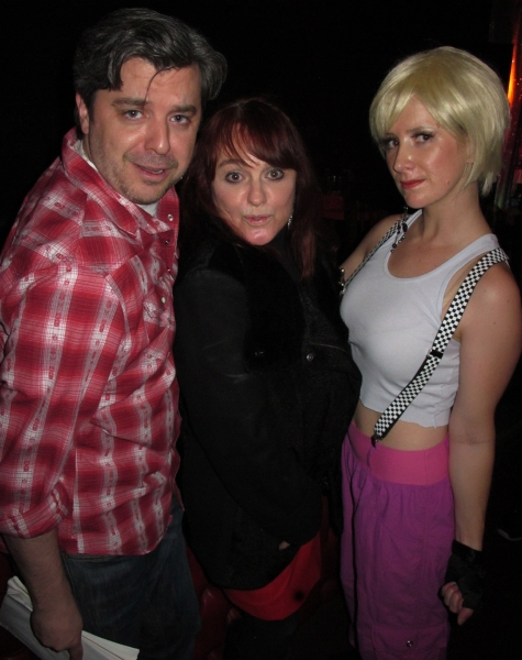 Director Kurt Koehler, Julie Brown, Jennifer Dohn Watkins as Billie Jean