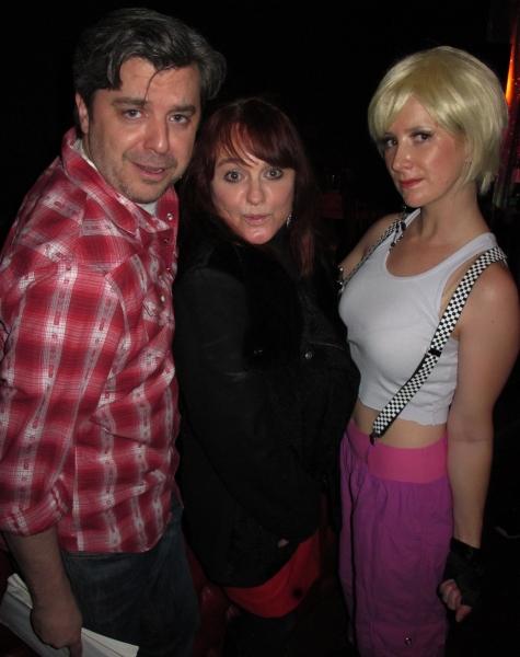 Director Kurt Koehler, Julie Brown, Jennifer Dohn Watkins as Billie Jean