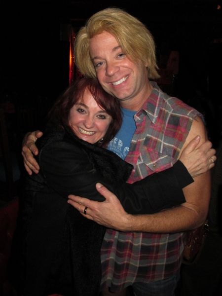 Julie Brown with Sam Pancake as Binx